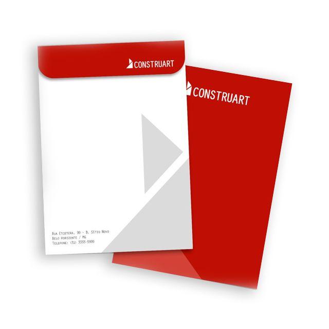 Envelopes Saco - Sulfite 90g - 4x0 - Colorido Frente - Sem Verniz - 17 x 24  cm | Gráfica e Brindes Prudente